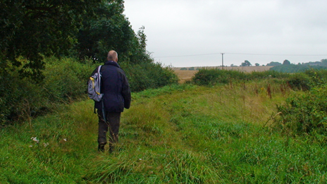 walking the Belvoir private tramway
