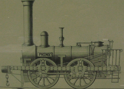 Phoenix, an early locomotive on the Leicester and Swannington railway