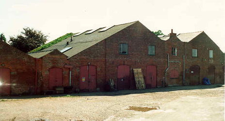 Shardlow, old iron warehouse